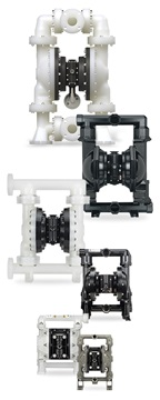 ARO Diaphragm Pumps for Chemical Processing Applications